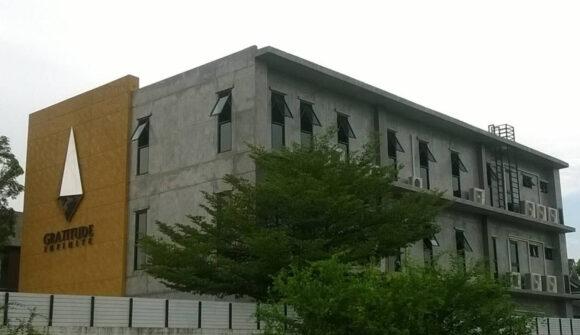 อาคารสำนักงาน 3 ชั้น บริษัท แกรททิทูด อินฟินิท จำกัด (มหาชน)